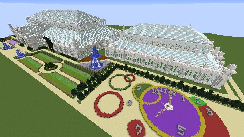 Minecrafterししゃもがマインクラフトでぷっこ村にテンペレートハウスを作る6