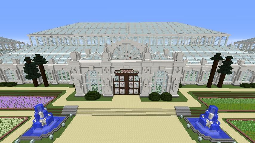 Minecrafterししゃもがマインクラフトでぷっこ村にテンペレートハウスを作る2