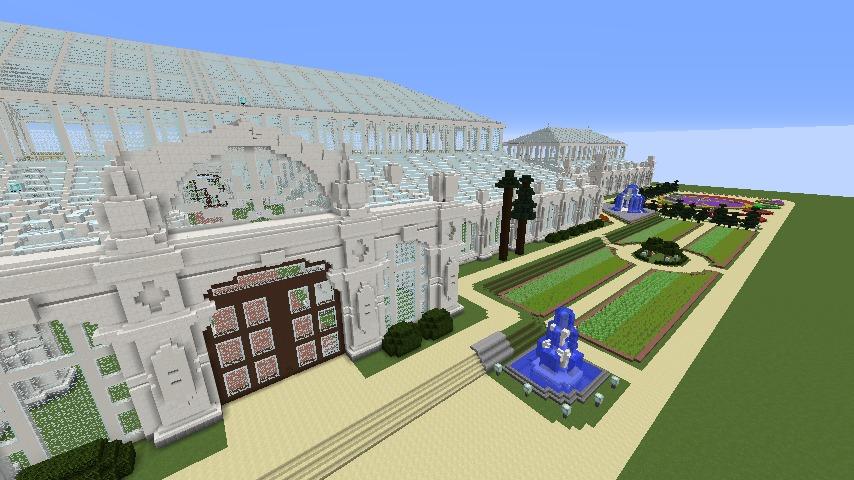 Minecrafterししゃもがマインクラフトでぷっこ村にテンペレートハウスを作る3