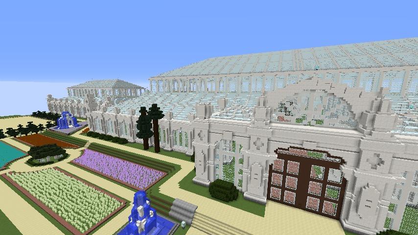Minecrafterししゃもがマインクラフトでぷっこ村にテンペレートハウスを作る4