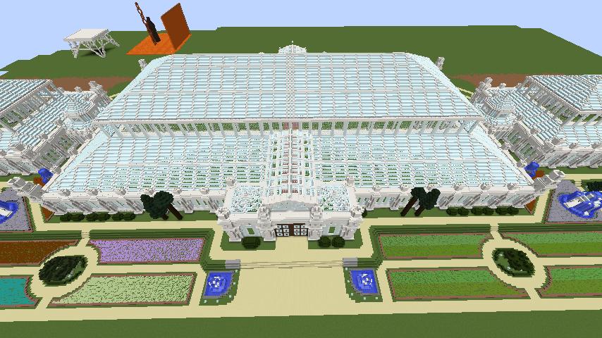 Minecrafterししゃもがマインクラフトでぷっこ村にテンペレートハウスを作る5