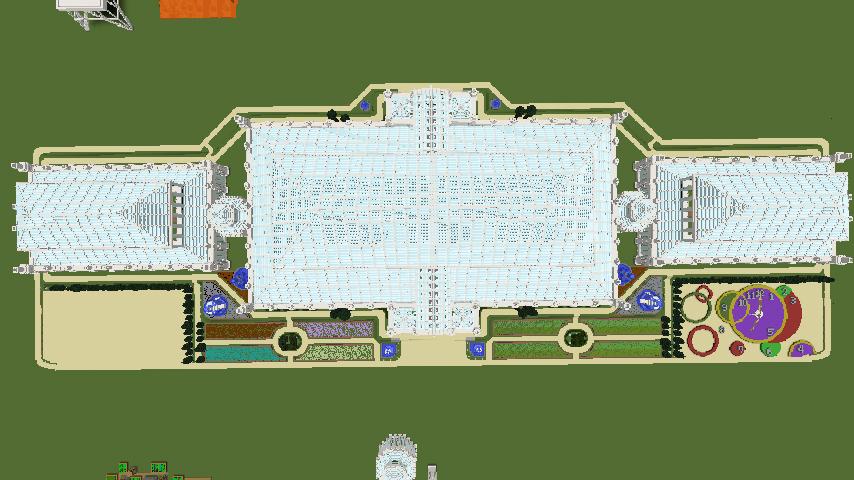 Minecrafterししゃもがマインクラフトでぷっこ村にテンペレートハウスを作る8