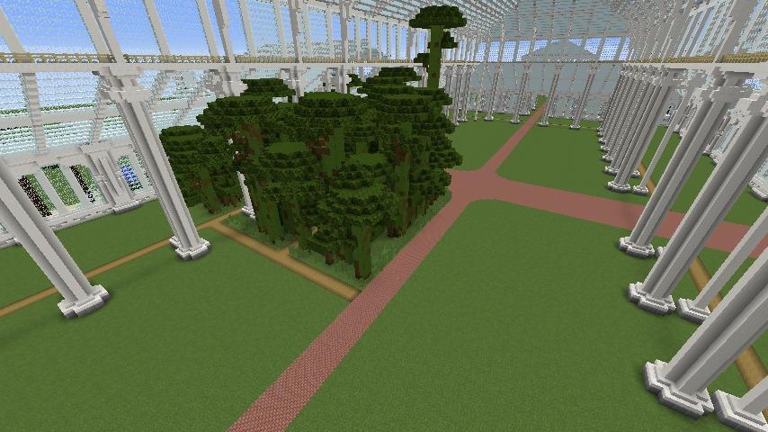 Minecrafterししゃもがマインクラフトでぷっこ村にテンペレートハウスを作る9