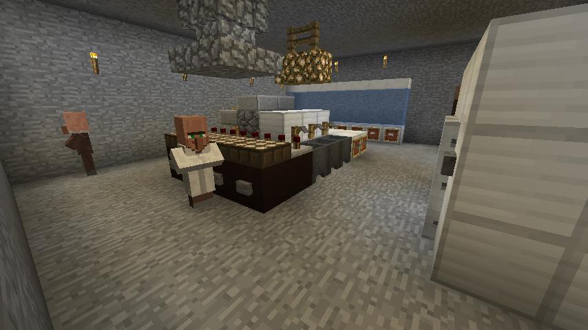 Minecrafterししゃもがマインクラフトでぷっこ村にある老舗リゾートホテルを紹介する9