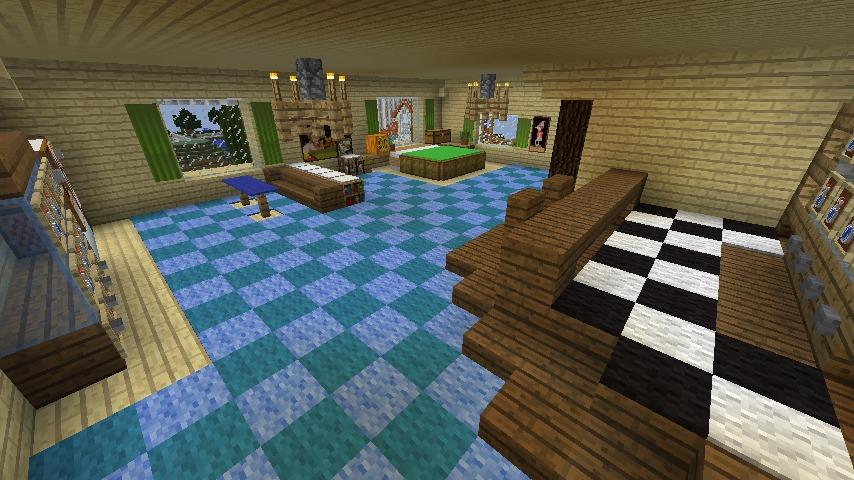 Minecrafterししゃもがマインクラフトでぷっこ村にある老舗リゾートホテルを紹介する13