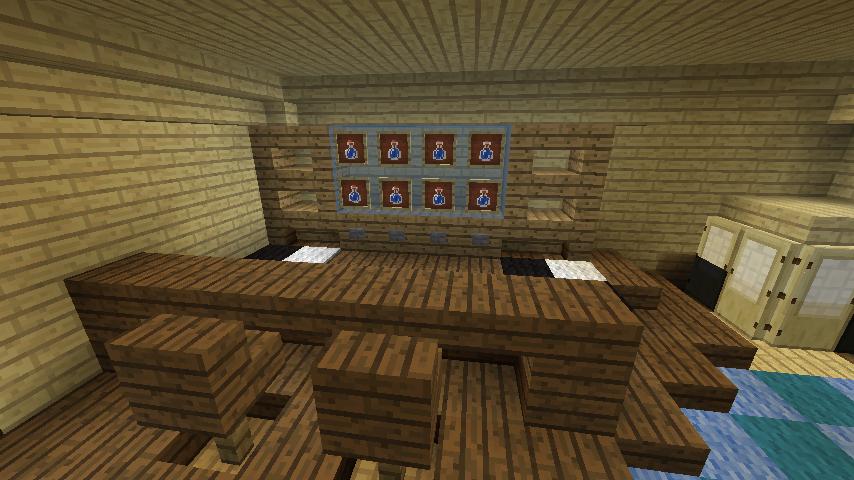 Minecrafterししゃもがマインクラフトでぷっこ村にある老舗リゾートホテルを紹介する14