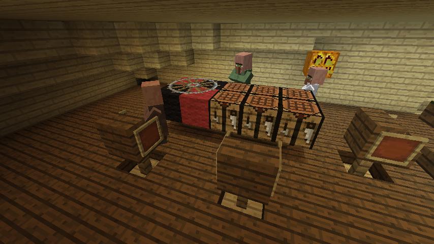 Minecrafterししゃもがマインクラフトでぷっこ村にある老舗リゾートホテルを紹介する20