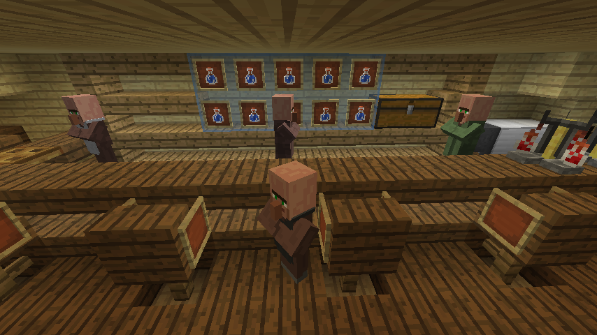 Minecrafterししゃもがマインクラフトでぷっこ村にある老舗リゾートホテルを紹介する19