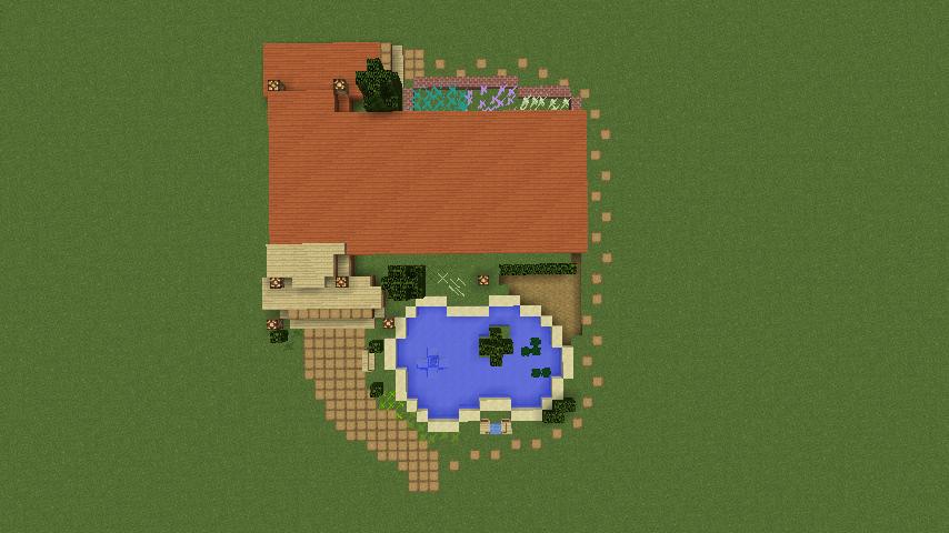 Minecrafterししゃもがマインクラフトでぷっこ村に移住者受け入れ用のログハウス6号を建築する1