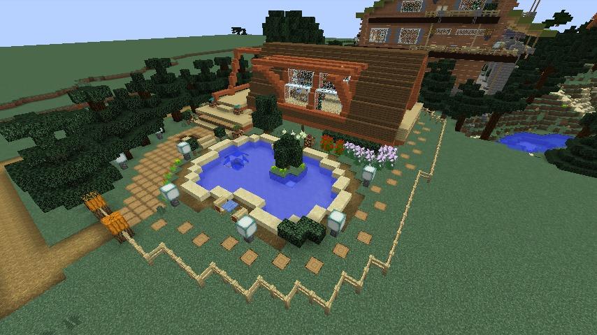 Minecrafterししゃもがマインクラフトでぷっこ村に移住者受け入れ用のログハウス6号を建築する10