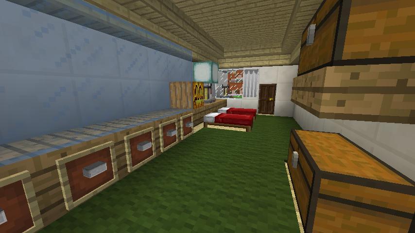 Minecrafterししゃもがマインクラフトでぷっこ村にイギリス館を建てて紹介する11