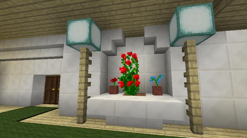 Minecrafterししゃもがマインクラフトでぷっこ村にイギリス館を建てて紹介する17
