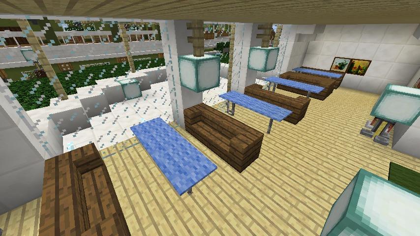 Minecrafterししゃもがマインクラフトでぷっこ村にイギリス館を建てて紹介する14