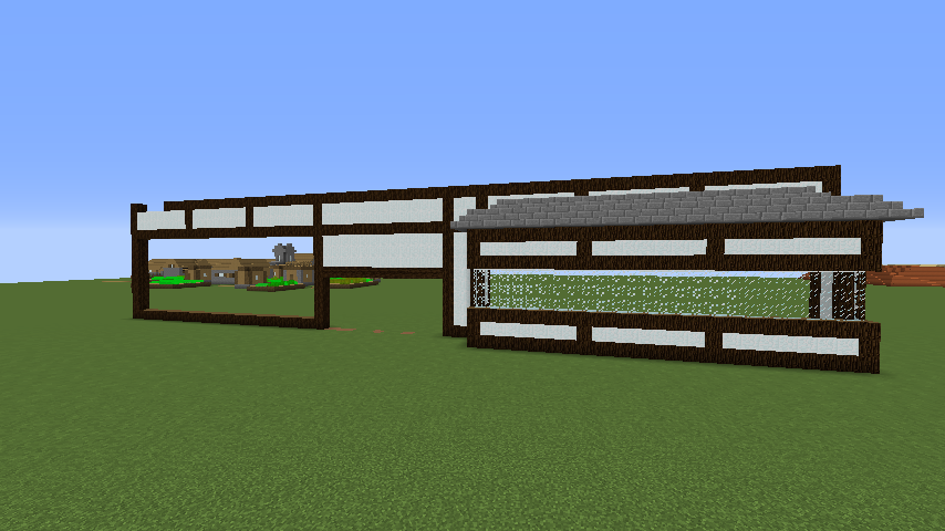 Minecrafterししゃもがマインクラフトで和風建築をして造り酒屋にする1