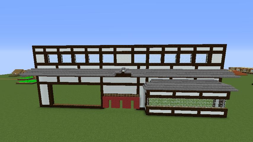 Minecrafterししゃもがマインクラフトで和風建築をして造り酒屋にする2