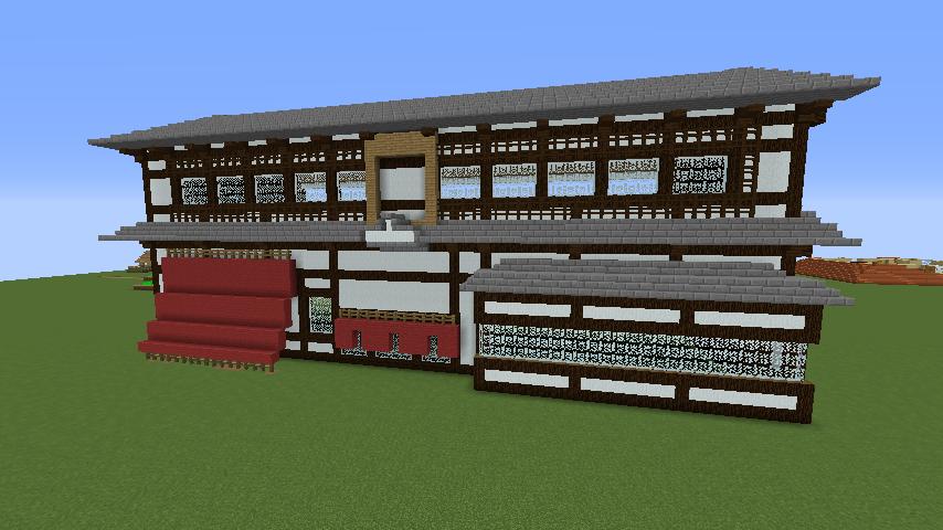 Minecrafterししゃもがマインクラフトで和風建築をして造り酒屋にする3
