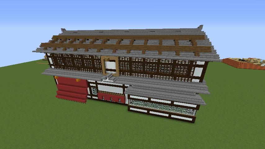 Minecrafterししゃもがマインクラフトで和風建築をして造り酒屋にする4