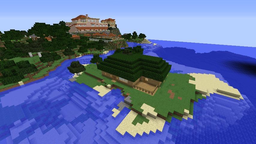 Minecrafterししゃもがマインクラフトで海辺の別荘をリフォームする1
