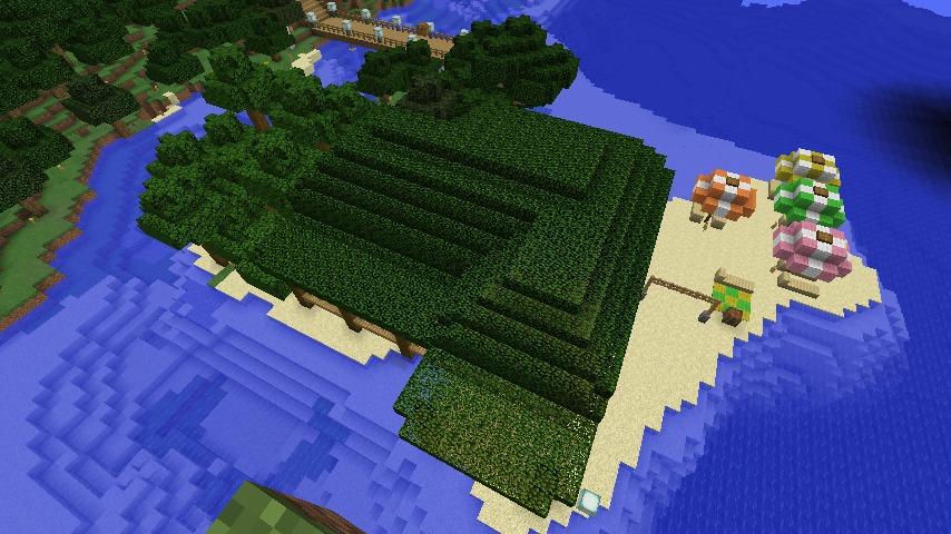 Minecrafterししゃもがマインクラフトで海辺の別荘をリフォームする4