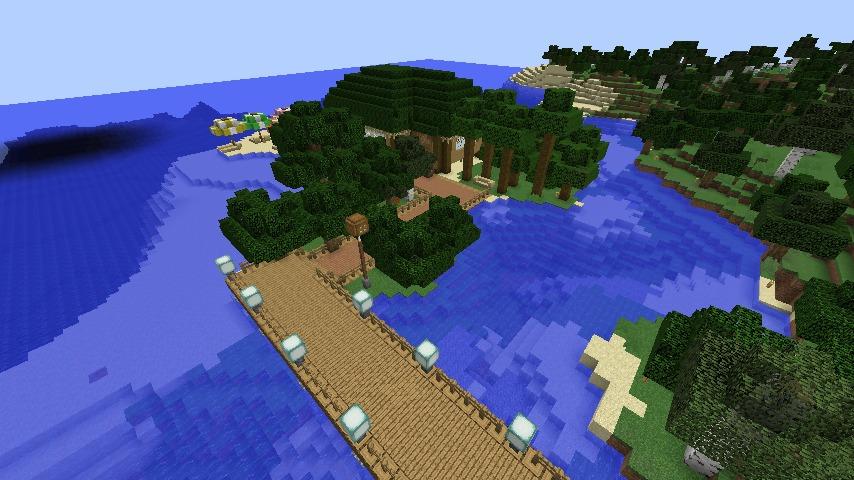 Minecrafterししゃもがマインクラフトで海辺の別荘をリフォームする7