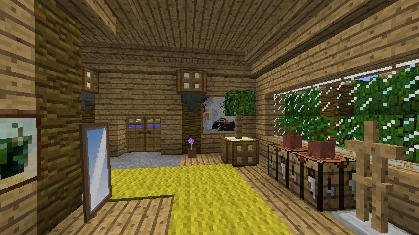 Minecrafterししゃもがマインクラフトで海辺の別荘をリフォームする9