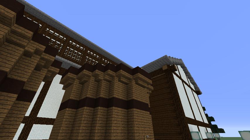 Minecrafterししゃもがマインクラフトで和風建築をして造り酒屋にする5