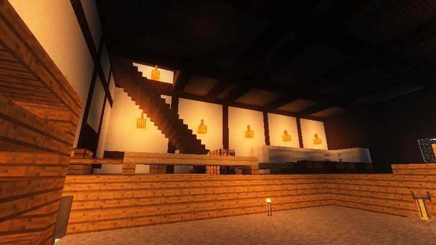 Minecrafterししゃもがマインクラフトで和風建築をして造り酒屋にする8