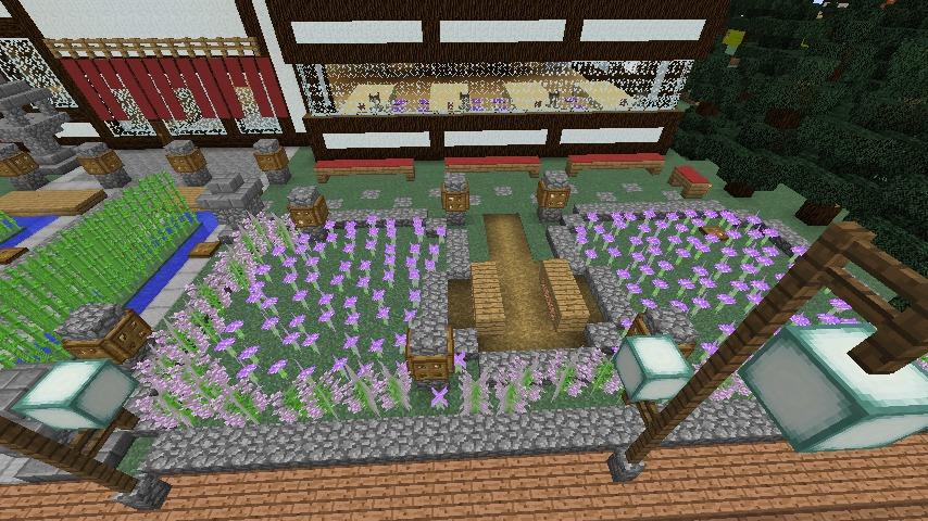 Minecrafterししゃもがマインクラフトで和風建築をして造り酒屋にする7