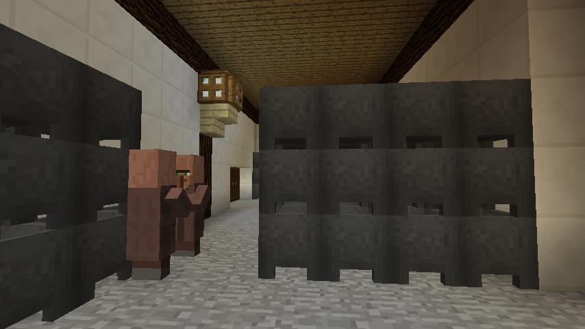 Minecrafterししゃもがマインクラフトで大通りに面した休憩施設を作っちゃう10