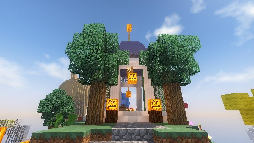 Minecrafterししゃもがマインクラフトでステキな広場を作る17