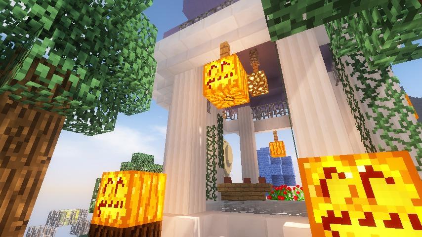 Minecrafterししゃもがマインクラフトでステキな広場を作る19