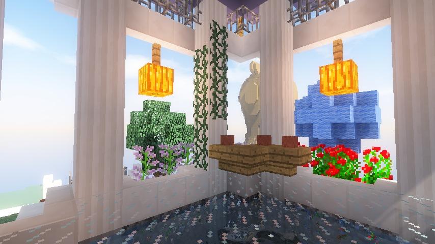 Minecrafterししゃもがマインクラフトでステキな広場を作る20