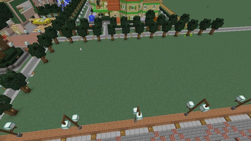 Minecrafterししゃもがマインクラフトでぷっこ村にシャトレーゼ丸パクリのお菓子屋プコレーゼを作る1
