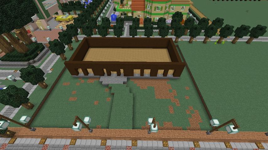 Minecrafterししゃもがマインクラフトでぷっこ村にシャトレーゼ丸パクリのお菓子屋プコレーゼを作る2