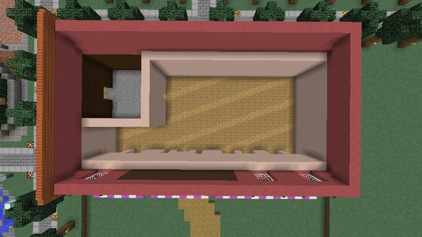 Minecrafterししゃもがマインクラフトでぷっこ村にシャトレーゼ丸パクリのお菓子屋プコレーゼを作る3