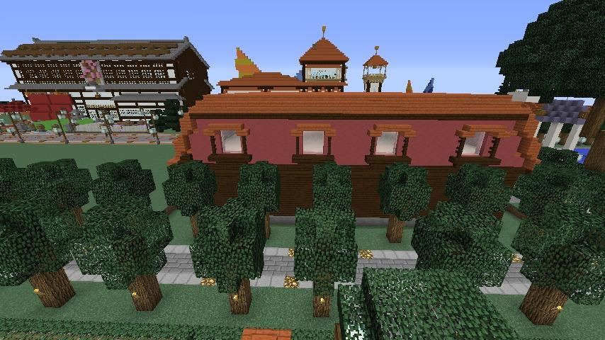 Minecrafterししゃもがマインクラフトでぷっこ村にシャトレーゼ丸パクリのお菓子屋プコレーゼを作る5