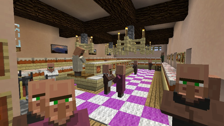Minecrafterししゃもがマインクラフトでぷっこ村にシャトレーゼ丸パクリのお菓子屋プコレーゼを作る10