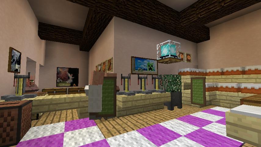 Minecrafterししゃもがマインクラフトでぷっこ村にシャトレーゼ丸パクリのお菓子屋プコレーゼを作る11