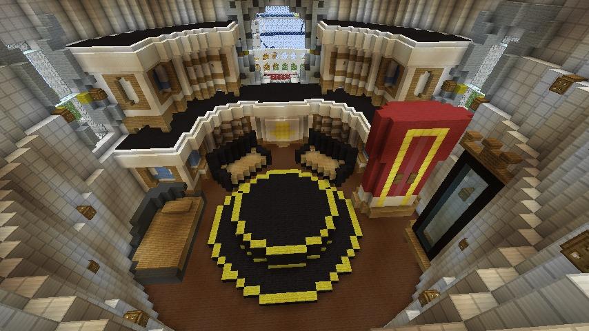 Minecrafterししゃもがマインクラフトでぷっこ村にスーパーマリオオデッセイのオデッセイ号を再現する7