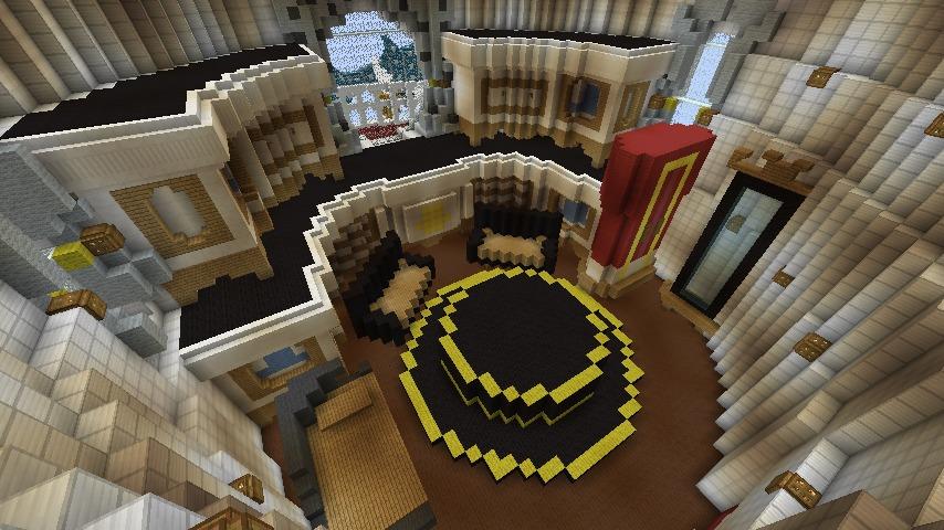 Minecrafterししゃもがマインクラフトでぷっこ村にスーパーマリオオデッセイのオデッセイ号を再現する8