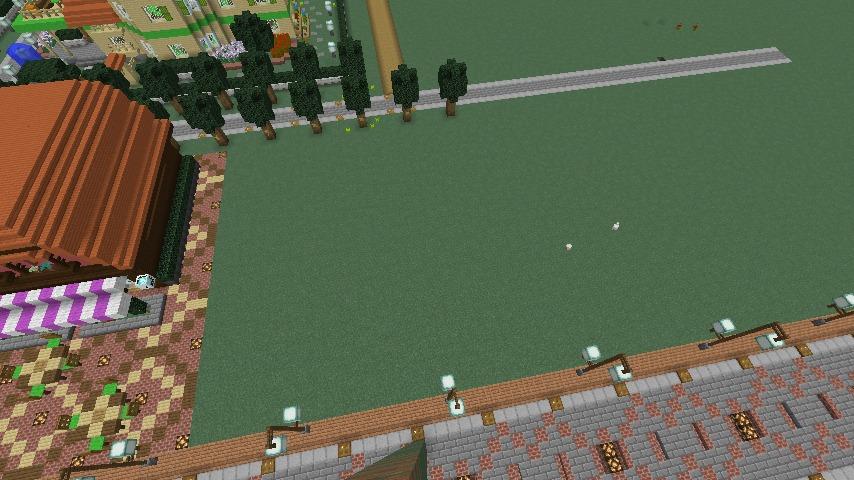 Minecrafterししゃもがマインクラフトでぷっこ村に服屋を作る1