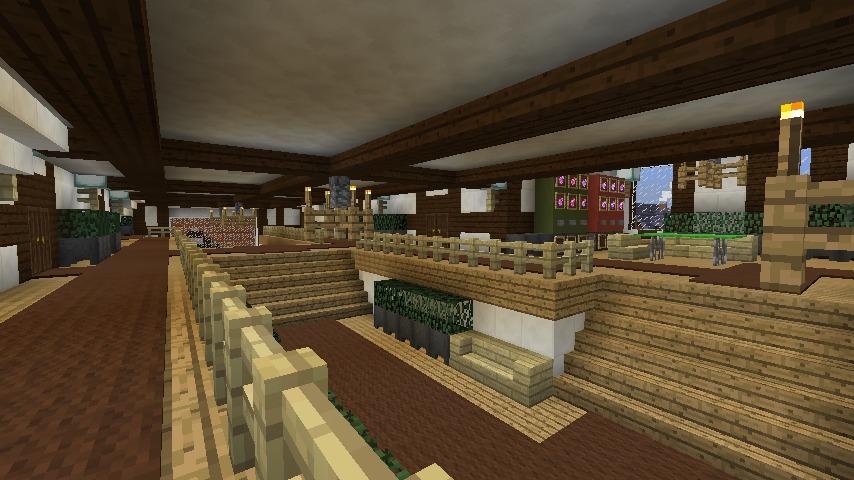 Minecrafterししゃもがマインクラフトでぷっこ村にチューダー様式の商店を建築する10
