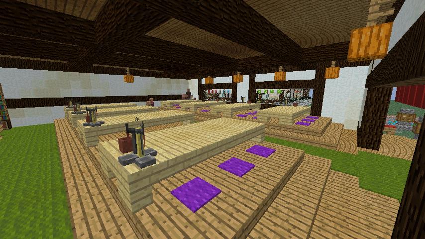 Minecrafterししゃもがマインクラフトでぷっこ村に和風建築でお土産屋を作る13