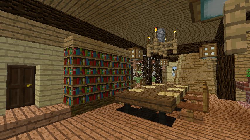 Minecrafterししゃもがマインクラフトでぷっこ村に移住者受け入れ用のログハウス7号を建築する10