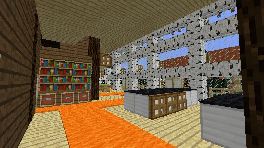 Minecrafterししゃもがマインクラフトでぷっこ村に移住者受け入れ用のログハウス8号を建てる8