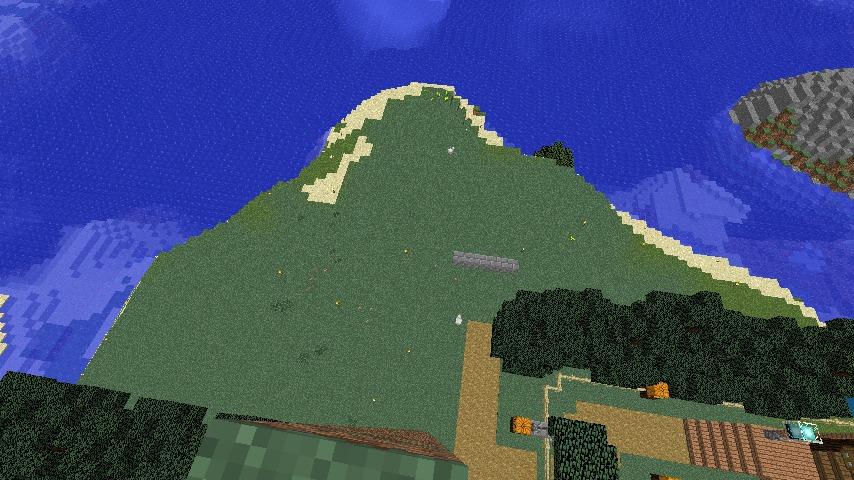 Minecrafterししゃもがマインクラフトでぷっこ村に灯台付きの移住者受け入れ用のログハウス9号を建築する2