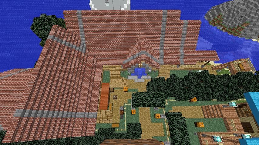 Minecrafterししゃもがマインクラフトでぷっこ村に灯台付きの移住者受け入れ用のログハウス9号を建築する5