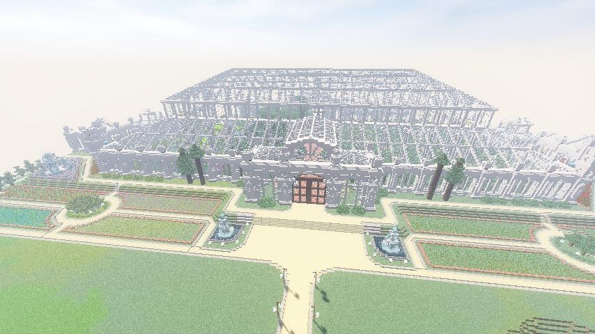 Minecrafterししゃもがマインクラフトでぷっこ村に植物園をつくる5