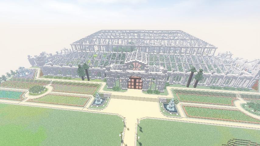 Minecrafterししゃもがマインクラフトでぷっこ村にクレイグダロック城を建築する1