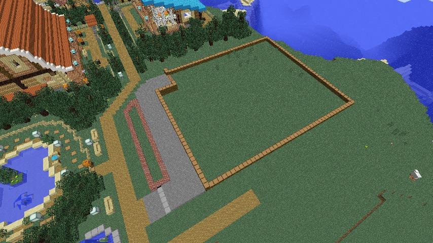 Minecrafterししゃもがマインクラフトでぷっこ村にログアパートを建築する1
